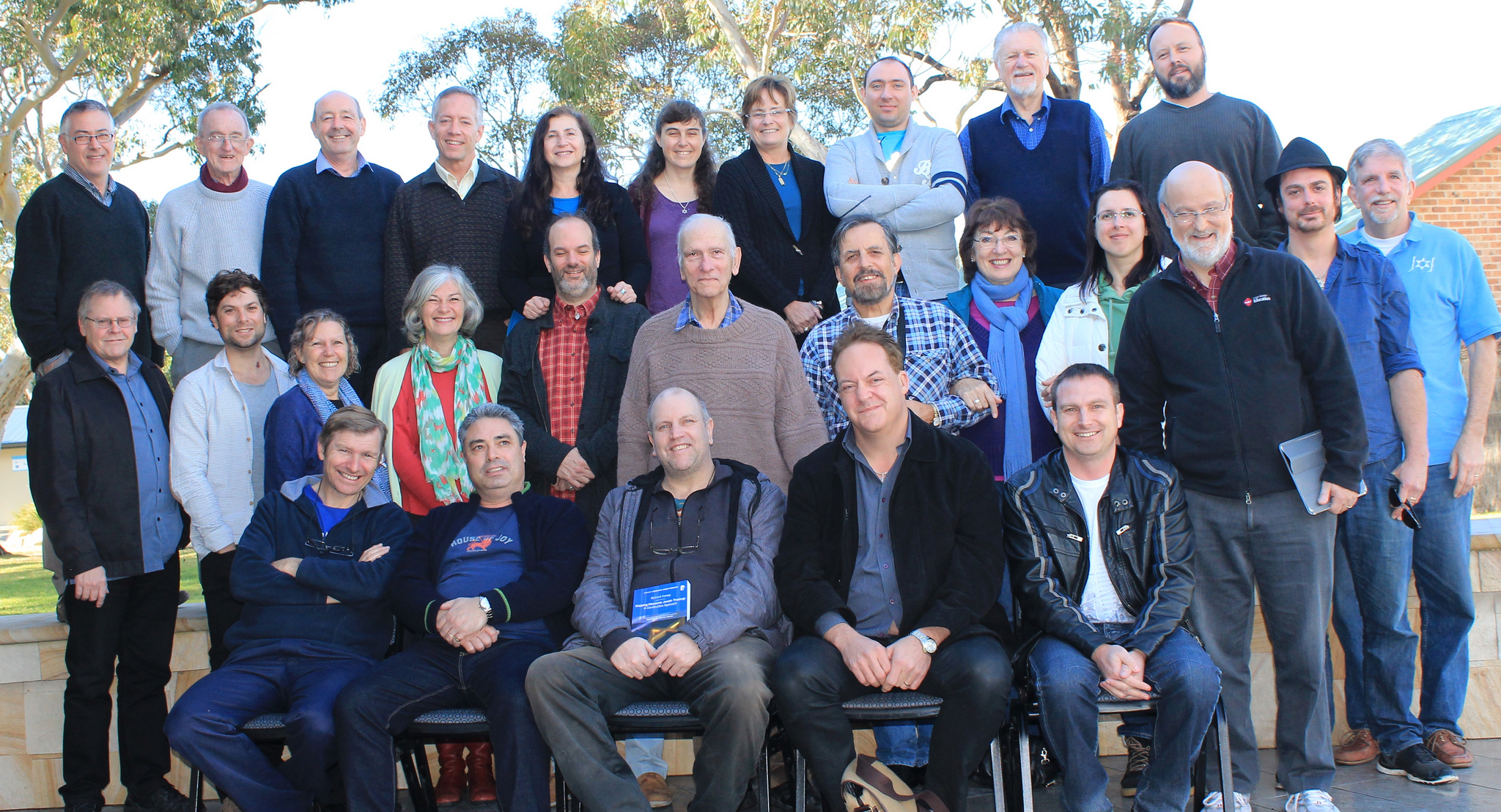 Group photo of Fourth AustralAsia Conference - July 2014